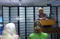 Lee Kessler at Auntie's Bookstore Signing