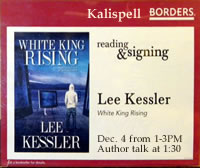 Lee Kessler's Upcoming book signing at Borders.