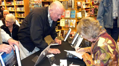 Borders Book Signing 2010